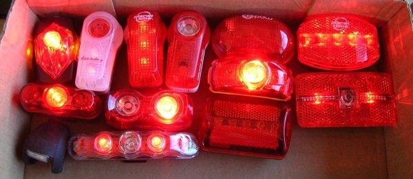 Bike lights!